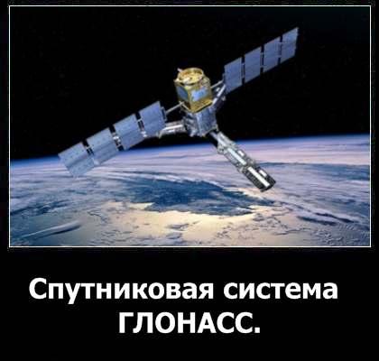 Спутниковая система ГЛОНАСС.