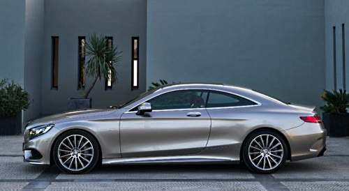Mercedes S-Class Coupe 2015