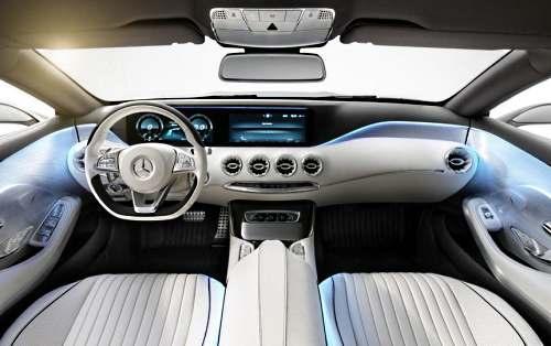 Мерседес S-Class Coupe салон