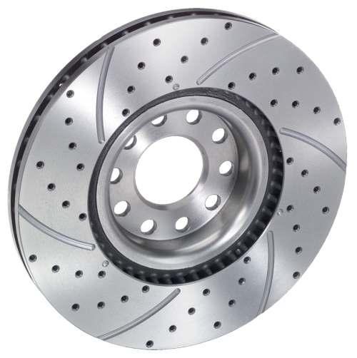 Что такое вентилируемые тормозные диски
