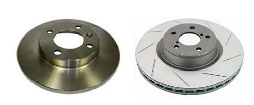 разница между вентилируемыми и простыми дисками