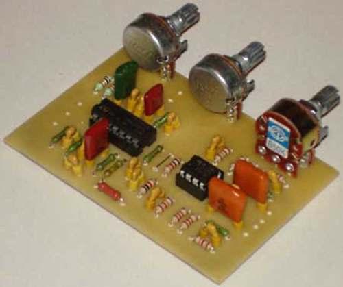 печатная плата модуля обработки сигнала