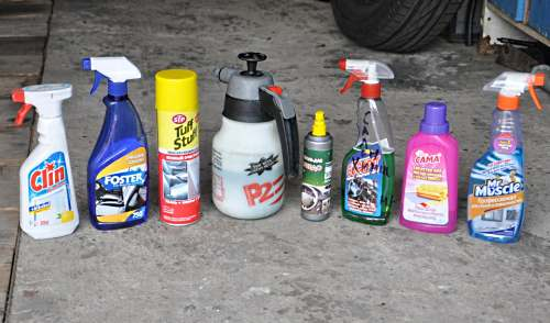 Средства для химчистки салона автомобиля своими руками