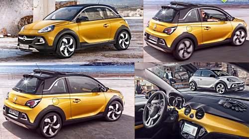 Обзор Opel Adam Rocks