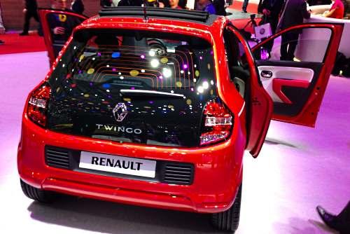 Технические характеристики Renault Twingo