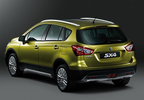 Внешний вид Suzuki New SX4