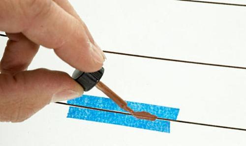 Ремонт участков обрыва нитей