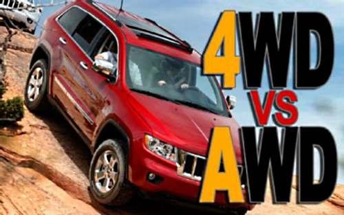 Отличие AWD от 4WD