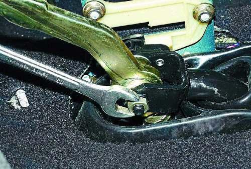 Особенности ремонта рычага ПП