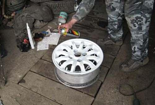 Технология покраски литых дисков своими руками
