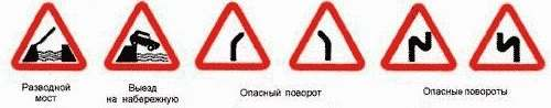 описание знаком на дороге