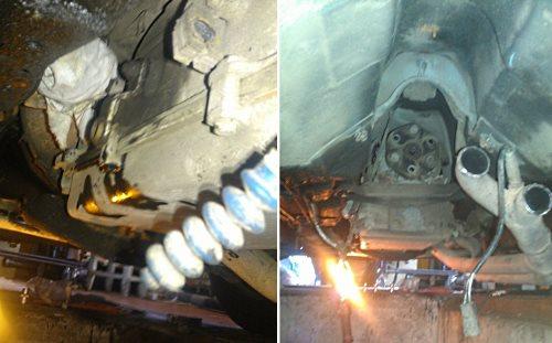 BMW e36 масло в механической коробке