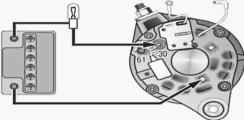 Проверка диодного моста генератора ваз 2109