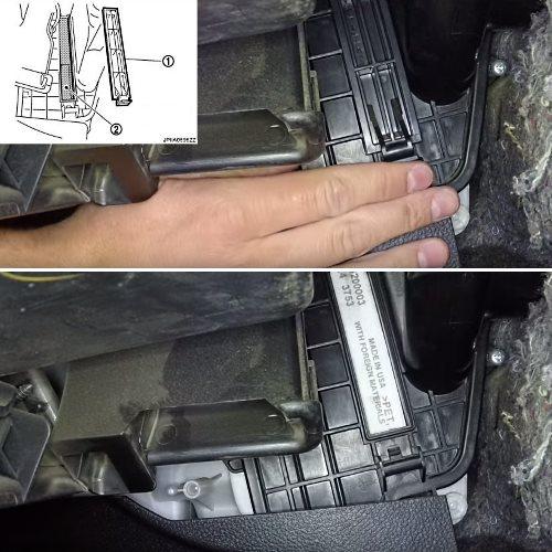 Замена воздушного фильтра ниссан теана j32 своими руками